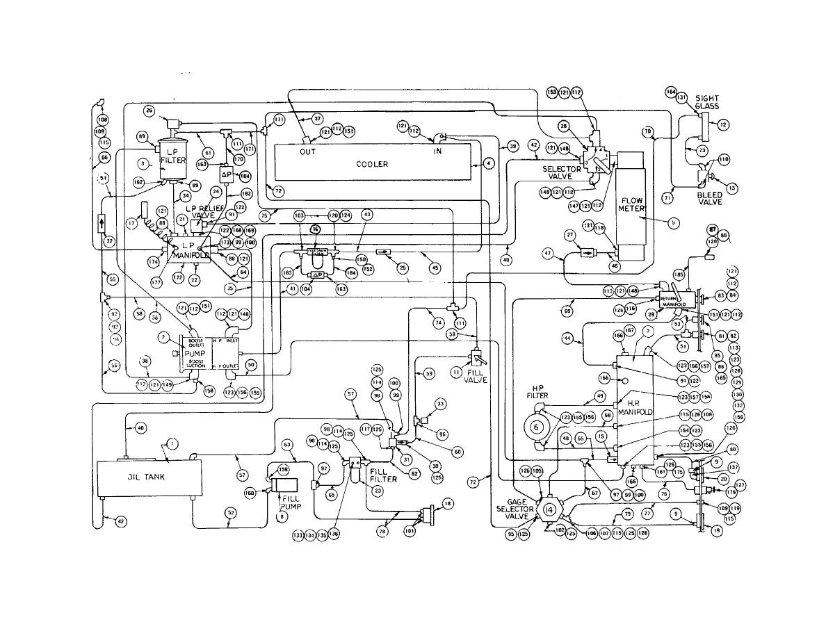 hight resolution of hydraulic piping diagram
