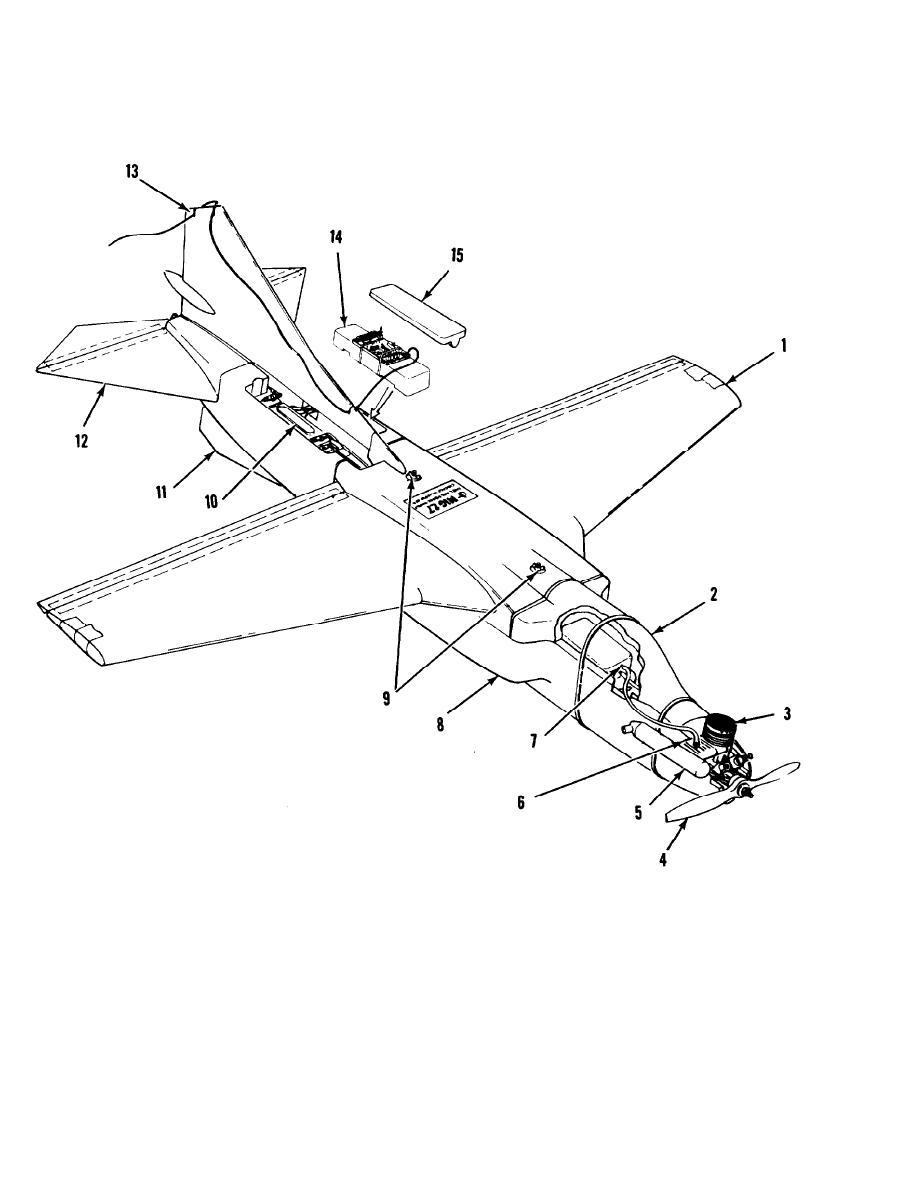 Figure D-1. Aircraft kit contents/FQM-117 B-l.