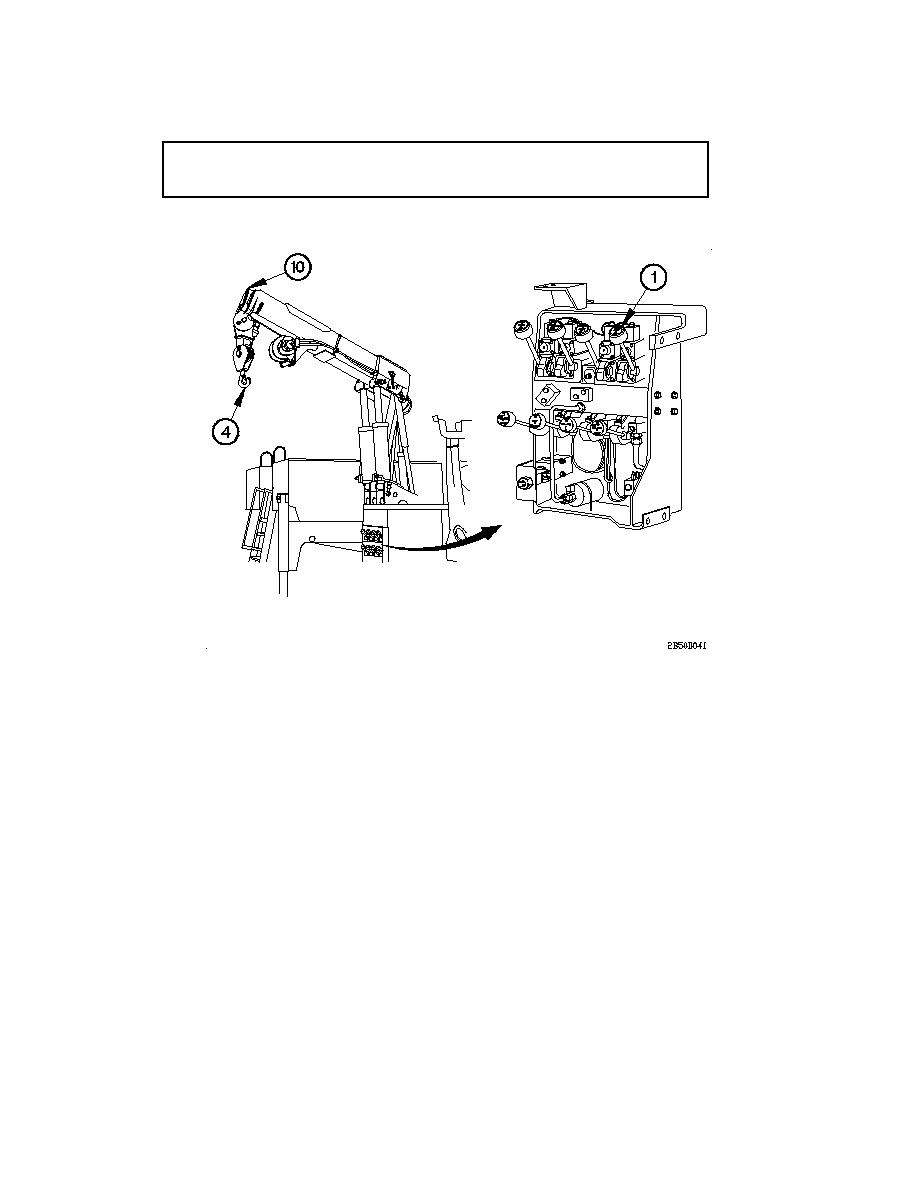 WRECKER MATERIAL HANDLING CRANE (MHC) OPERATION (CONT
