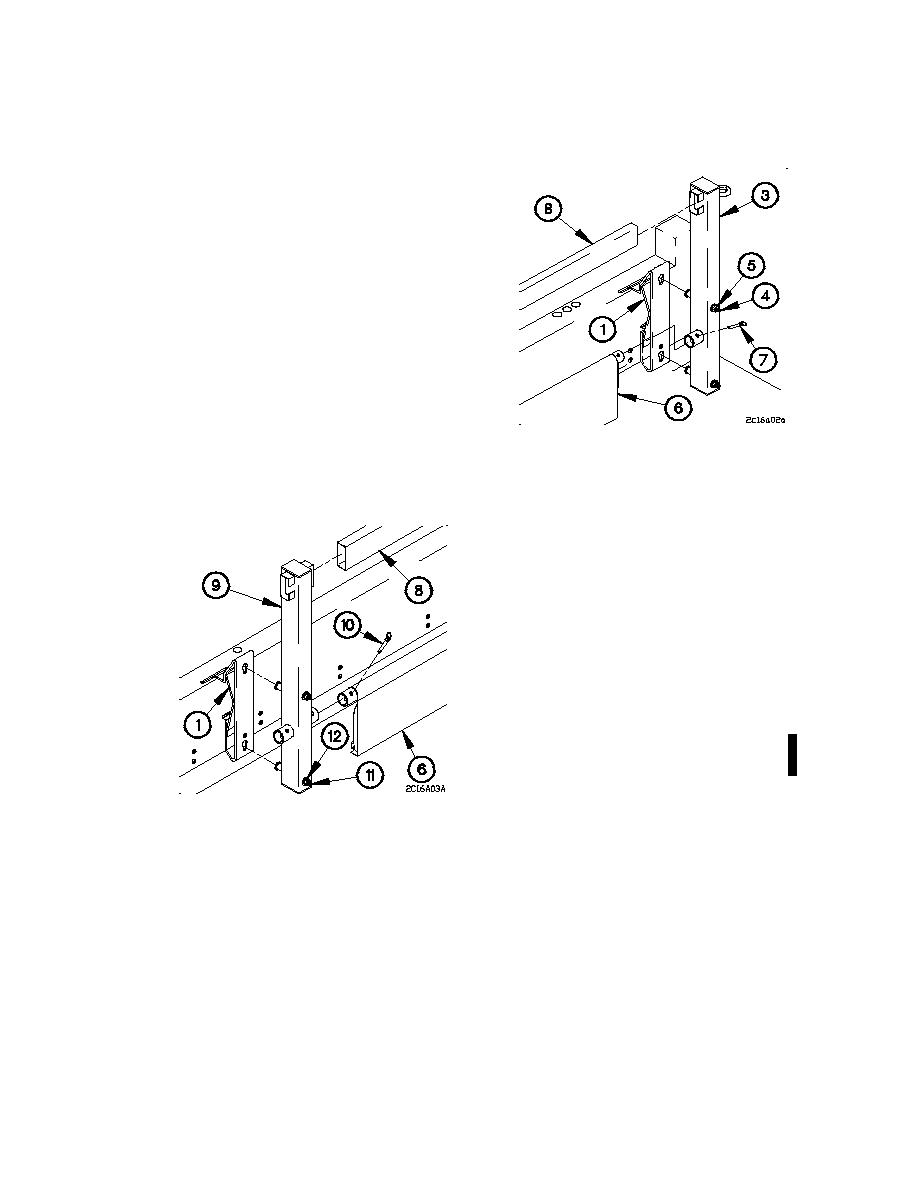 M1090/M1094 TROOPSEAT KIT INSTALLATION/REMOVAL (UNMODIFIED