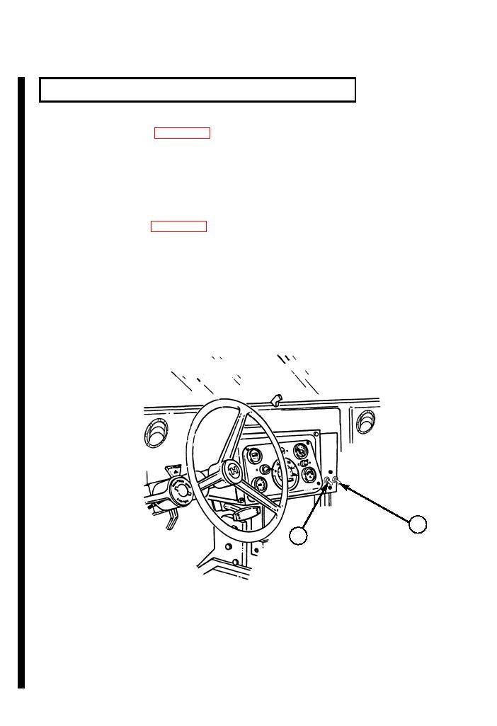 HEATER OPERATION (M1151, M1152)