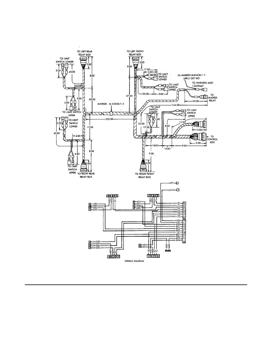 Figure G-10. Branched Wiring Harness Assembly