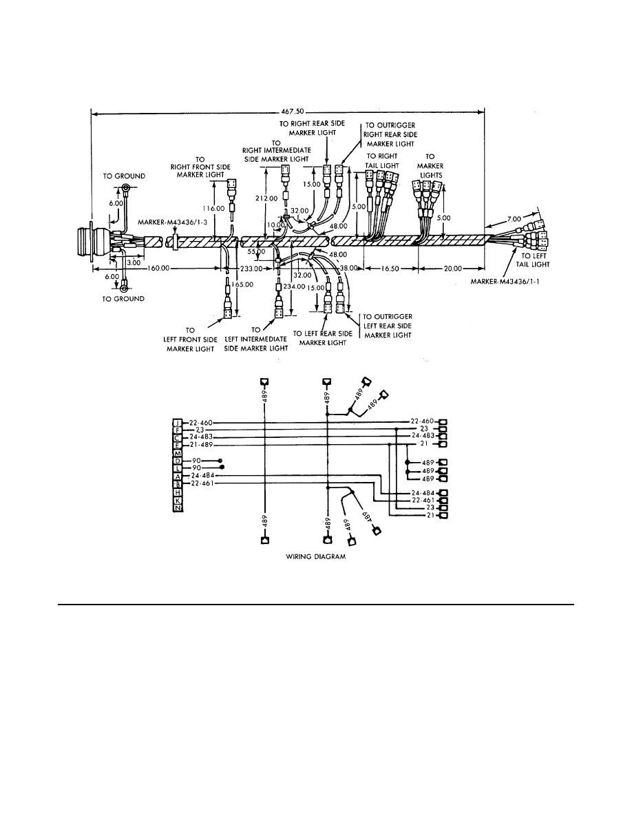 Figure G-11. Branched Wiring Harness