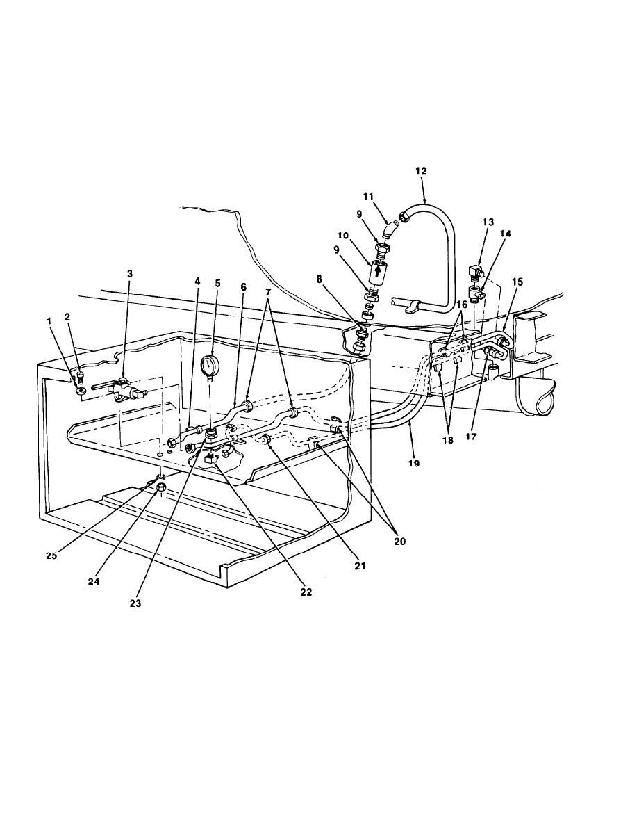 Figure 43. Jet Level Sensor Precheck Component Parts