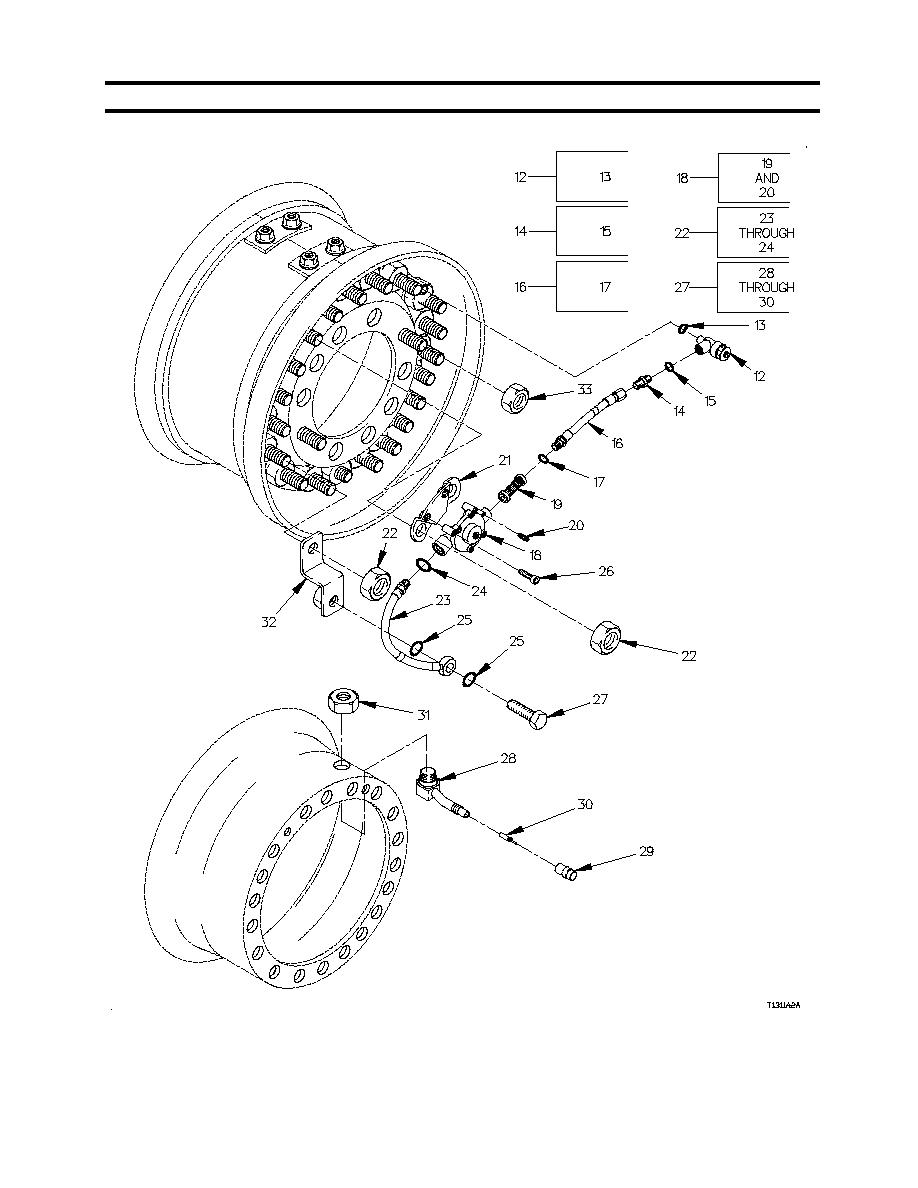 Figure 20. Group 1311 Wheel Assembly And Fittings (Sheet 2