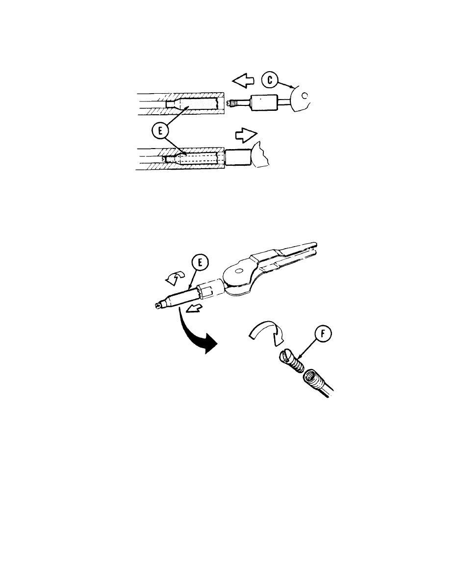 MAINTAIN 7.62-MM MACHINE GUN (REMOVE RUPTURED CARTRIDGE