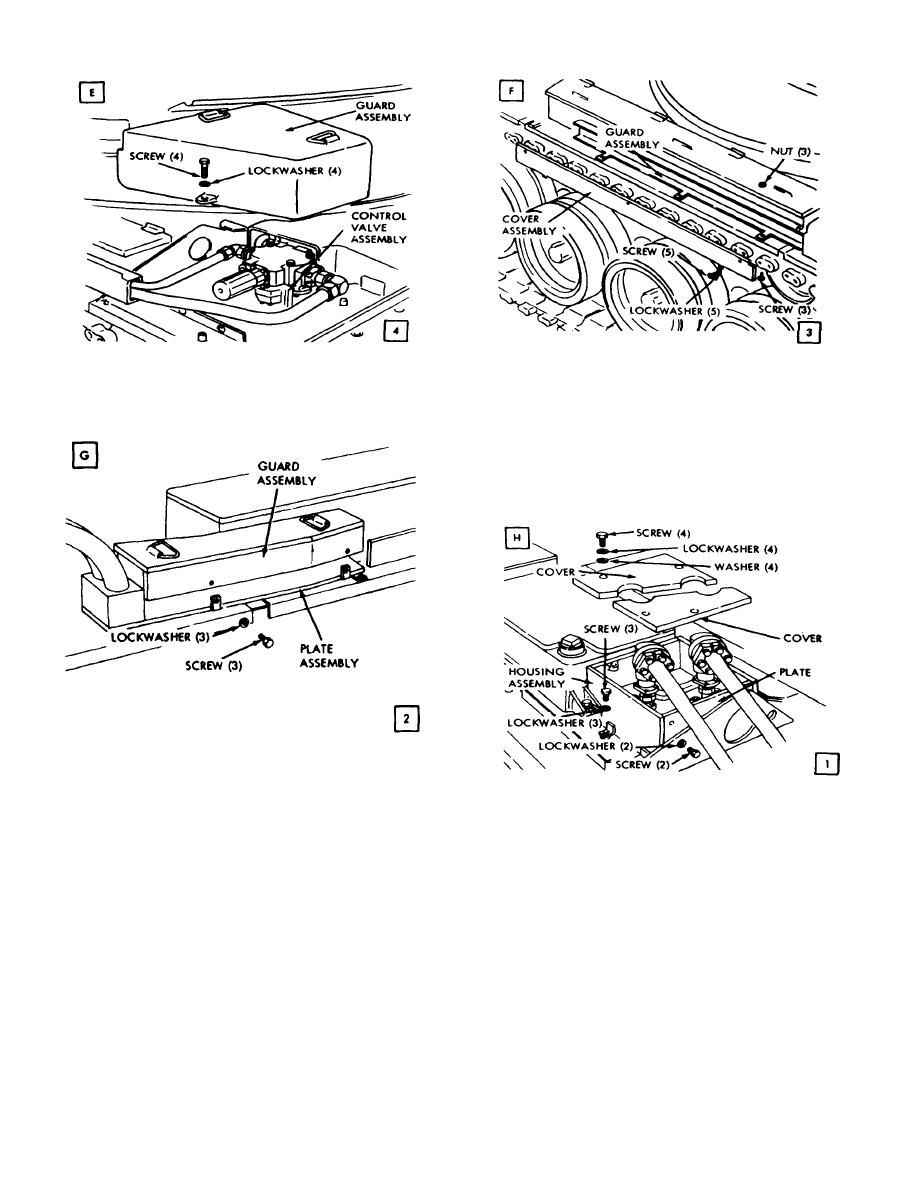 Figure 3-25. Removal or installation of hydraulic system