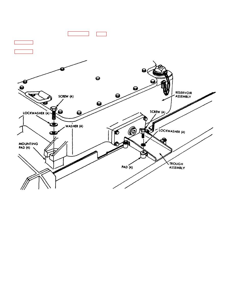 Figure 3-33. Removal or installation of hydraulic assembly.