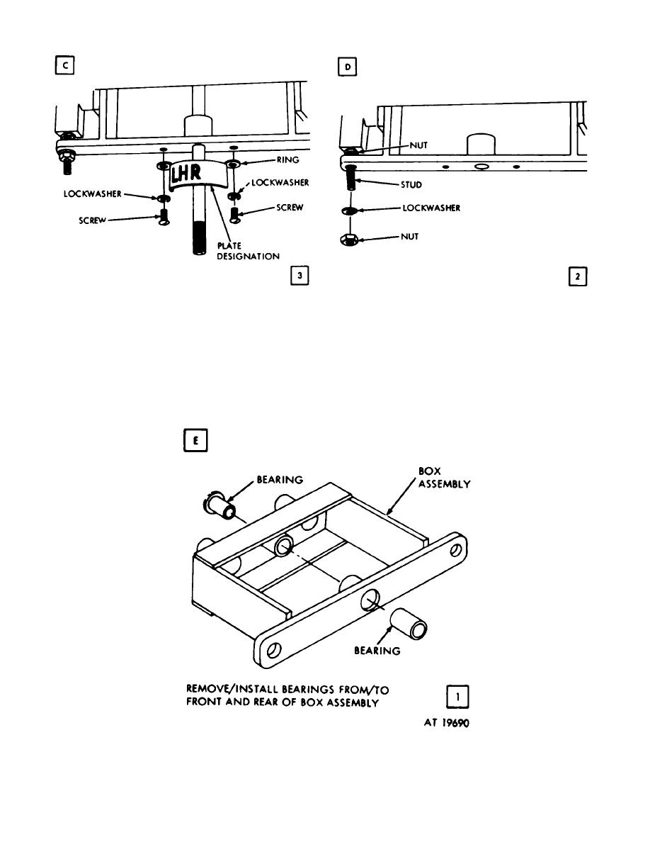 Figure 3-49. Removal or installation of control box