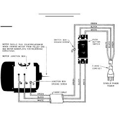 Single Phase Electric Motor Starter Wiring Diagram 1994 Ford F150 Radio Air Compressor Schematic Get Free Image