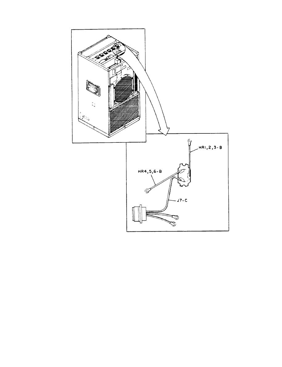 Figure 4-37. Terminal Location, Heater Thermostat (S3