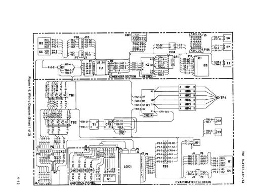 small resolution of figure 4 6 wiring diagram sheet 1 of 2 6 50 208 volt wiring