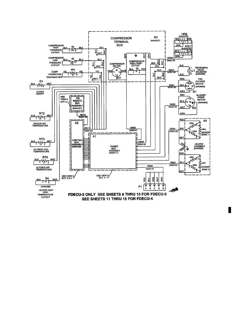 Figure 4-15. Electrical Schematic (Sheet 1 of 15).