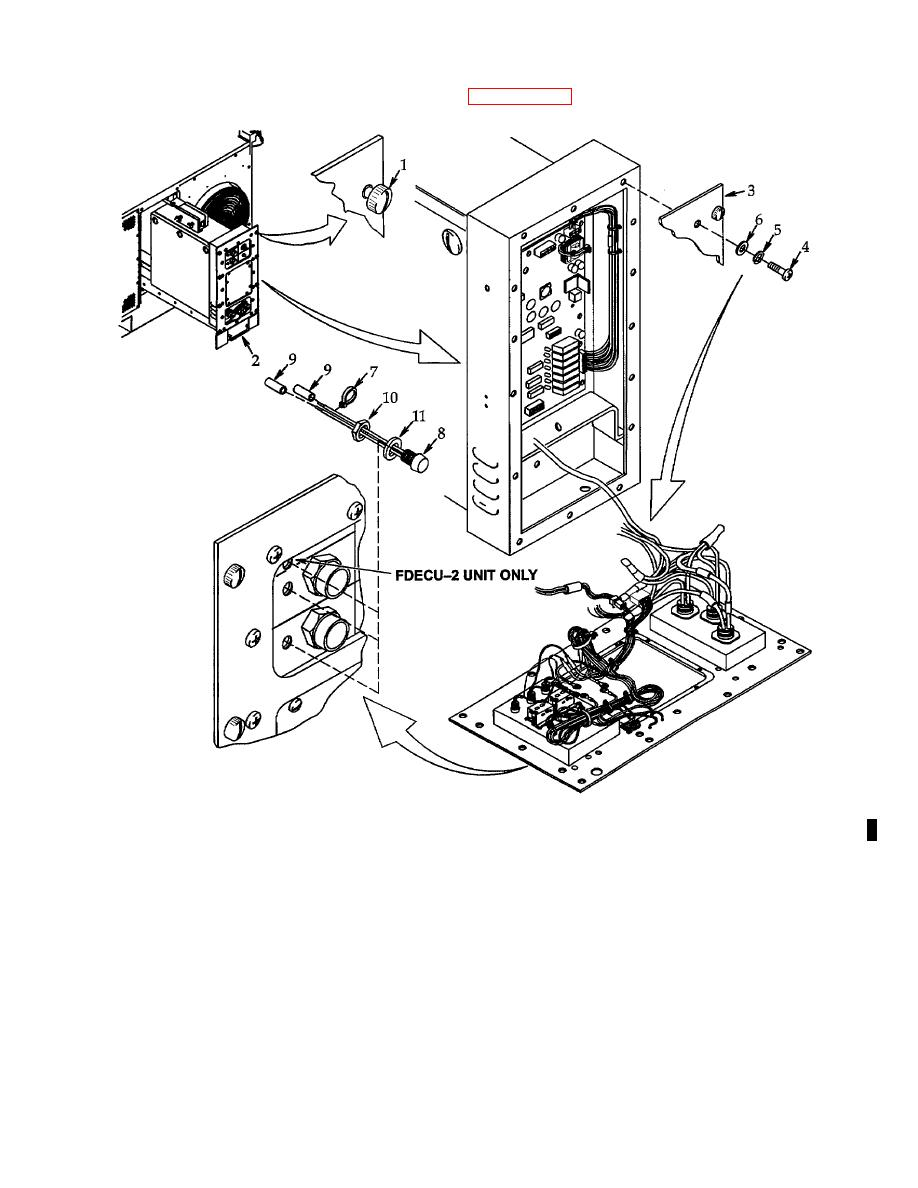 Figure 4-44. Light Emitting Diodes (FDECU-2 DS4 thru DS6