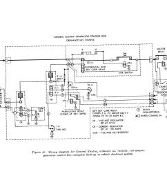 wiring diagram for general electric ordnance no 7355925 150 amper generator control box complete hook up to vehicle electrical system [ 1112 x 840 Pixel ]