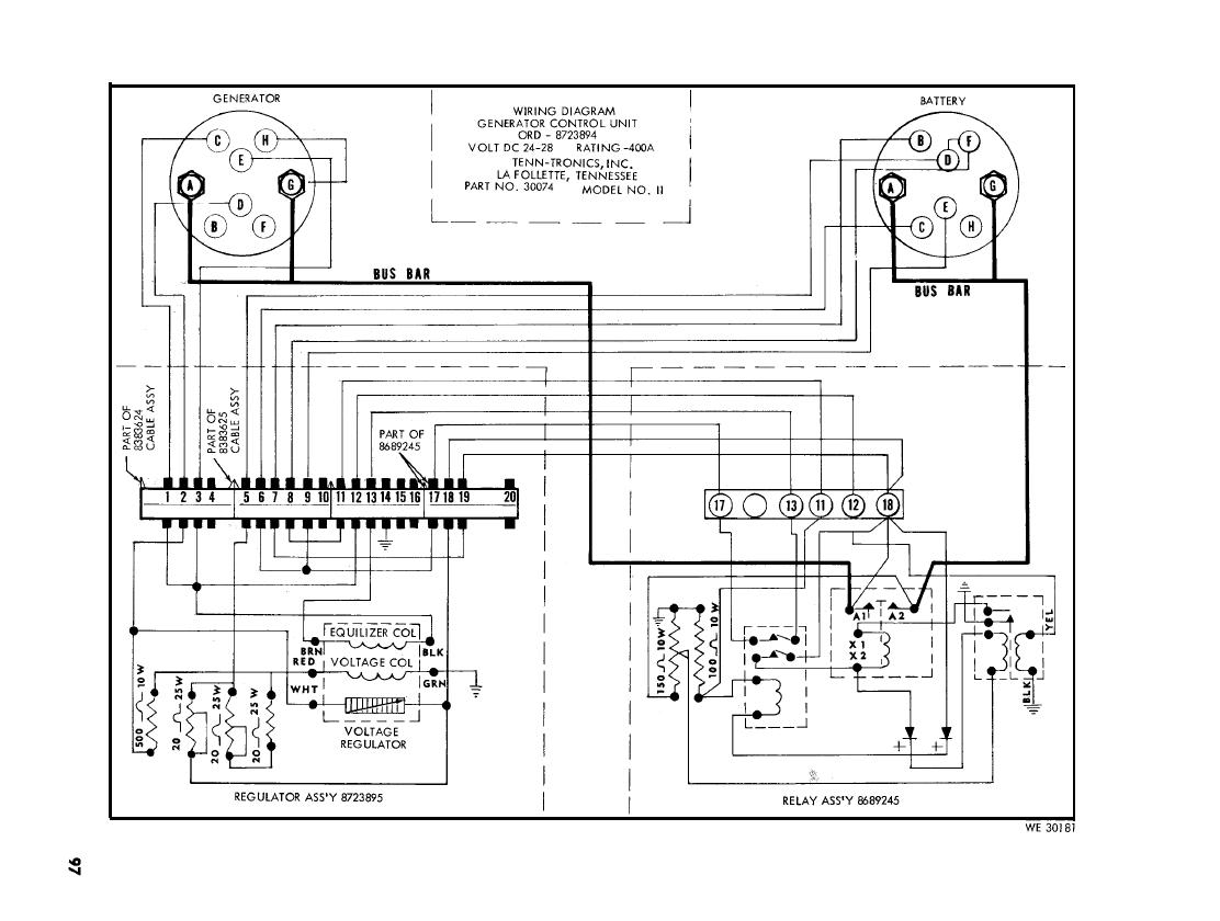 Figure 45. Wiring diagram for Tenn-Tronics, Inc. ordnance
