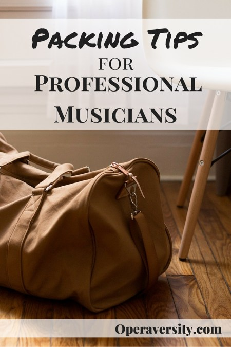 Packing Tips for Professional Musicians