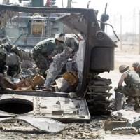 ЗАПАДНЯ. Как американская рота попала в иракскую засаду. Фото с комментарием
