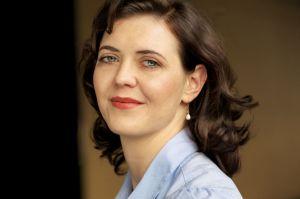 Julia Amos-Portrait by Gerardo Garciacano