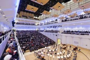Konzerthaus Dortmund-Saalansicht mit Publikum - Foto© Mark Wohlrab