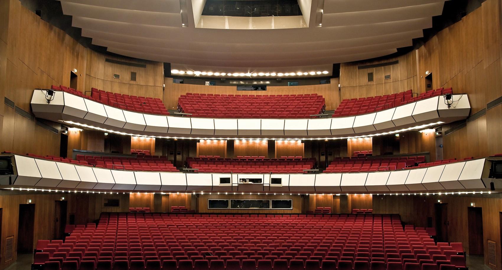 Theater Duisburg-Zuschauerraum - Foto@Hans-Jörg Michel