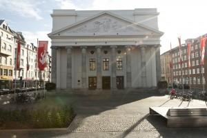 Theater Aachen, Außenansicht, Foto: @Ludwig Koerfer