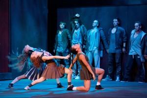 Inszenierungsfoto West Side Story/Theater Aachen @ Ludwig Koerfer