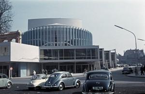 Theater Münster /  historisches Foto aus dem Eröffnungsjahr 1956 / Foto @ Theater Münster