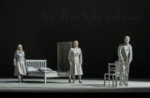 """Deutsche  Erstaufführung """"Morgen und Abend"""", Regie: Graham Vick, am 29. April 2016, Deutschen Oper Berlin. Copyright: Clive Barda"""