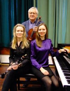 Frauke Hansen, Roman Nowicki und Tatiana Prushinskaya. © Anneliese Schürer