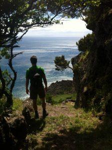 Kenneth Mattice / Trekking auf den Azoren / Foto privat