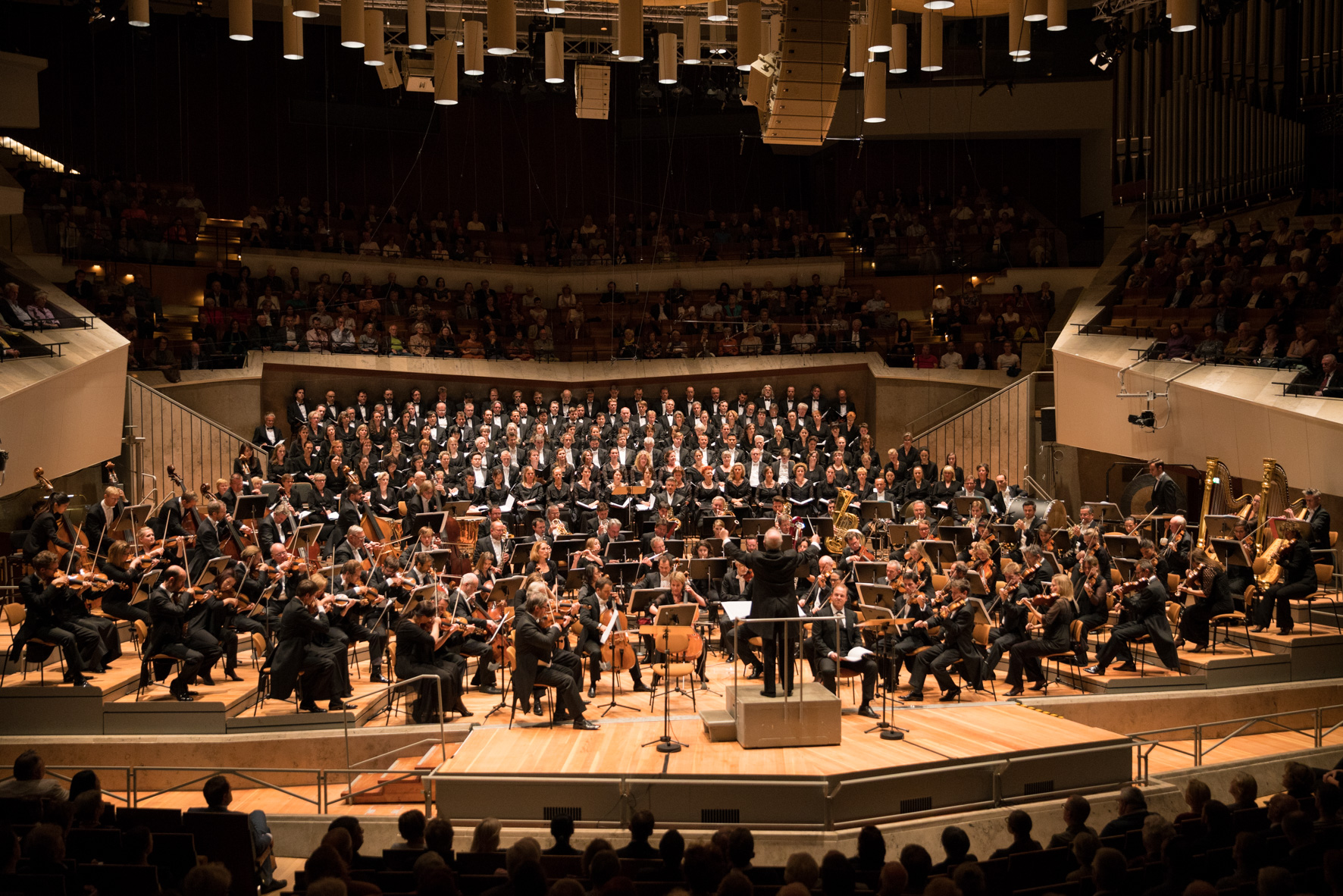 Staatskapelle Berlin / Konzert Dream of Gerontius / Foto @ Holger Kettner
