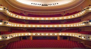 Zuschauerraum im Opernhaus Düsseldorf / Foto @ Hans Jörg Michel