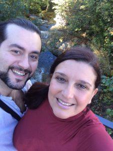 Aris Argiris mit Ehefrau Lupe Larzabal