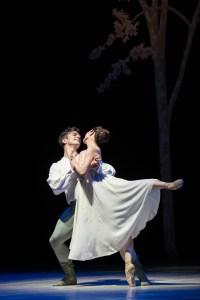 Liam Blair und Yuki Kishimoto als Romeo und Julia / Foto ©Mario Perricone