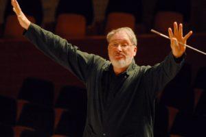 HK Gruber, Dirigent des 3. Sinfoniekonzertes (Foto: Georg Anderhub)