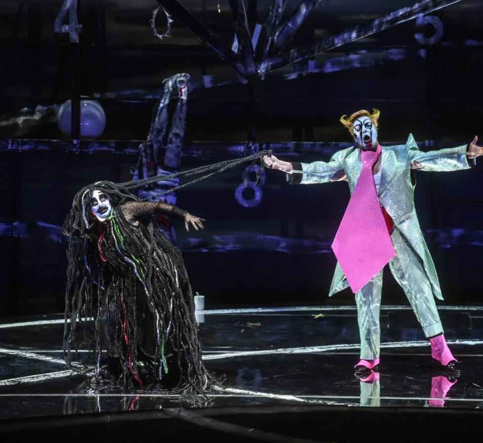 Staatsoper Hamburg / Parsifal/ Claudia Mahnke, Vladimir Baykov- Foto @ Hans Jörg Michel