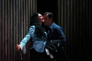 Almerija Delic als Carmen / Theater Osnabrück / Foto@ Jörg Landsberg