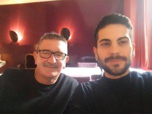 Detlef Obens u. Emmanuel Papadopoulos/11-2017