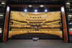 Saarländisches Staatstheater/Großes Haus-Zuschauersaal/ Foto ©Martin Kaufhold