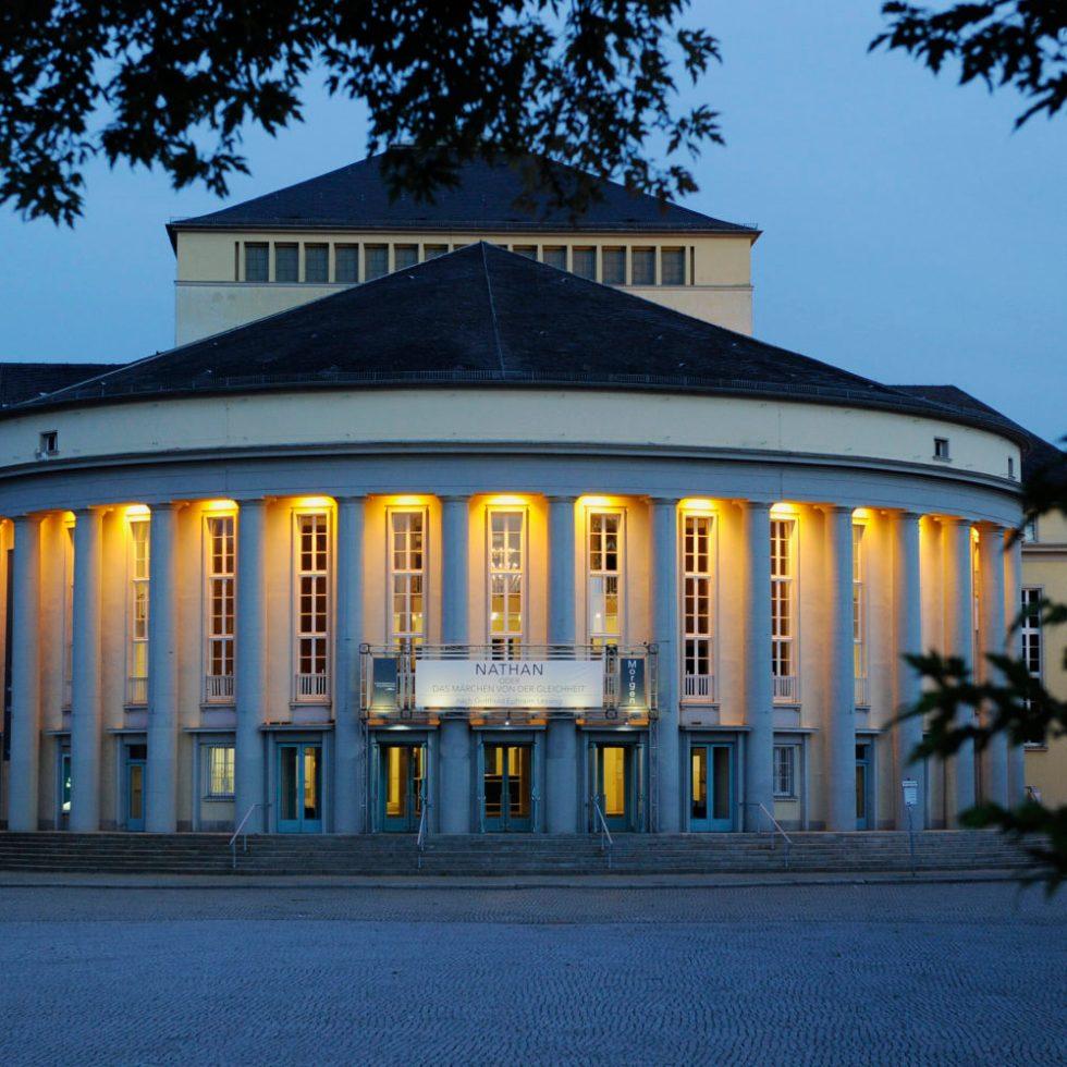 Saarländisches Staatstheater/Außenansicht/ Foto ©Martin Kaufhold