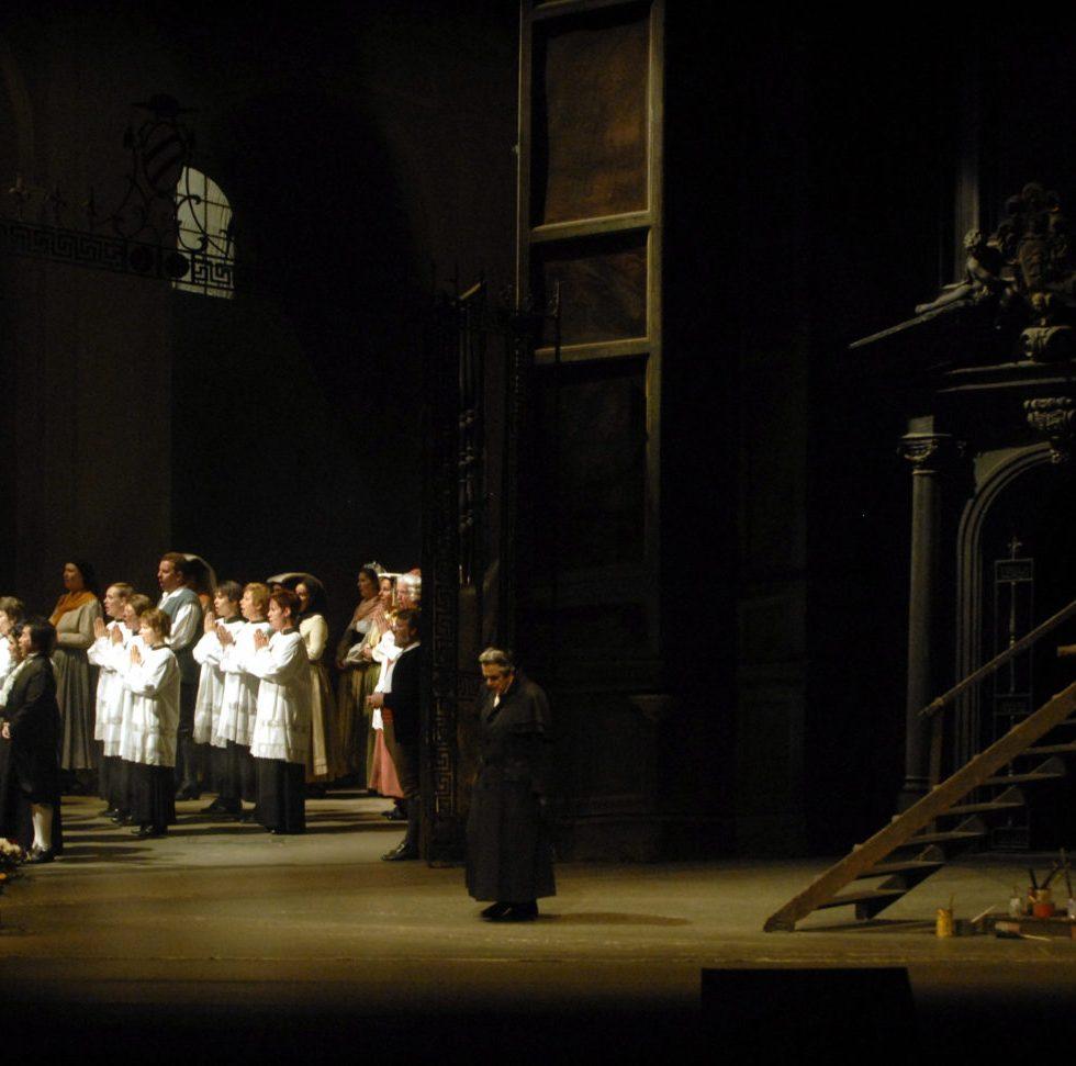 TOSCA von Giacomo Puccini, Deutsche Oper Berlin, Foto © Bettina Stöß