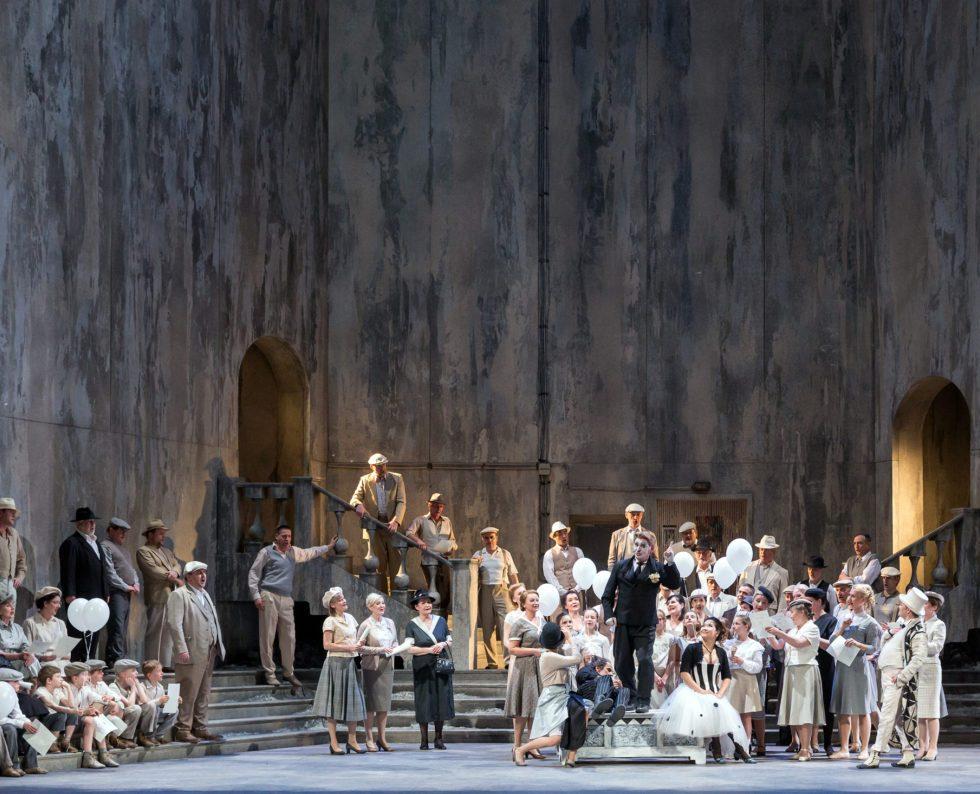 Oper Leipzig/ Pagliacci/ Foto @ Tom Schulze