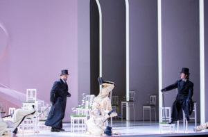 Ildar Abdrazakov (Méphistophélès), Piotr Beczala (Faust). Copyright: ZDF/ORF/Salzburger Festspiele/Monika Rittershaus