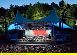 Die Berliner Philharmoniker live in der Waldbühne 2018 Copyright: ZDF/rbb/EuroArts/Thomas Rosenthal
