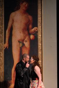Theater Aachen/Don Giovanni/ Hrólfur Saemundsson, Katharina Hagopian/ Foto @ Wil van Iersel
