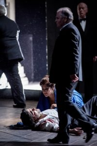 """Tosca""/Staatsoper Hamburg/ mit Tatjana Serjan, Massimo Giordano, Ambrogio Maestri/Foto © Arno Declair"