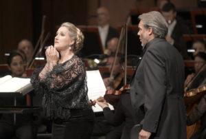 Damrau-Testé/ Maria Stuarda, Konzertante Premiere am 28. Mai 2018 in der Deutschen Oper Berlin, copyright: Bettina Stöss