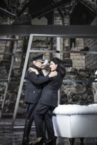 Staatsoper Unter den Linden/MACBETH/ Plácido Domingo (Macbeth), Anna Netrebko (Lady Macbeth) / Foto-Credits: Bernd Uhlig