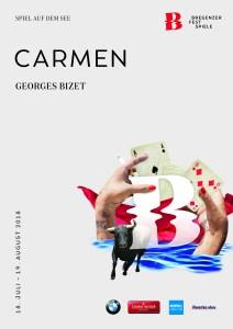 Plakatmotiv CARMEN © Bregenzer Festspiele / moodley